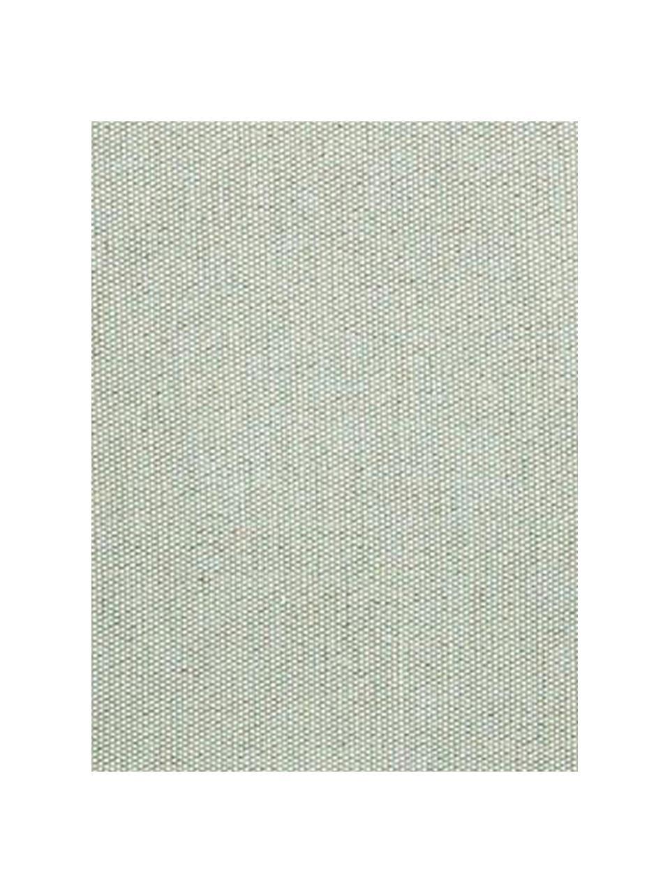 Copridivano Levante, 65% cotone, 35% poliestere, Verde grigio, Larg. 200 x Alt. 110 cm