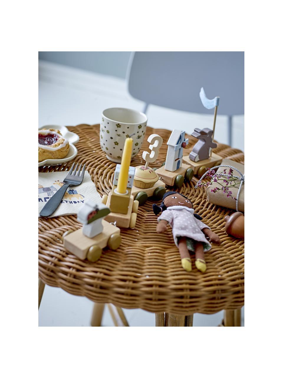 Kindergeschirr Harvest aus Steingut, 3-tlg., Steingut, Beige, Mehrfarbig, Set mit verschiedenen Größen