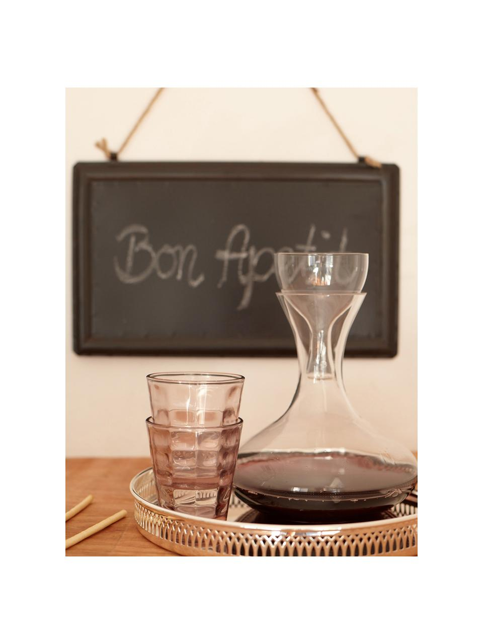 Rotweindekanter Simplicity, 1.85 L, Glas, Transparent, 1.85 L