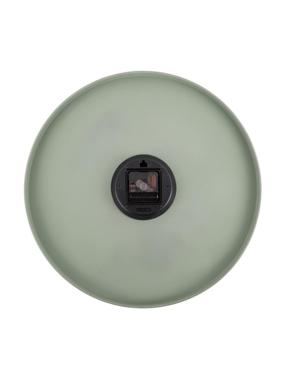 Orologio da parete Charm, Metallo rivestito, Verde, Ø 45