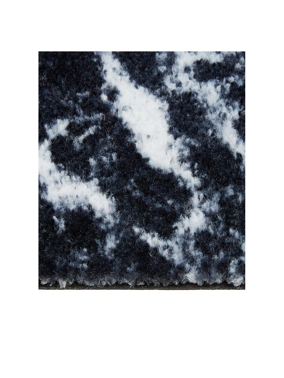 Zerbino in poliammide lavabile Bailey, Poliammide, Nero, Larg. 50 x Lung. 75 cm