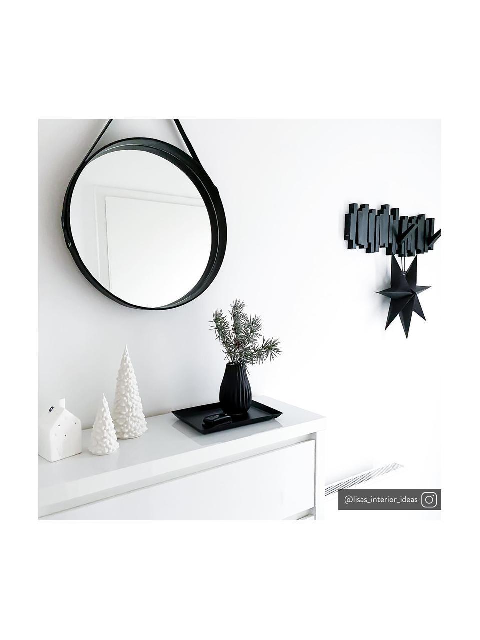 Wandkapstok Sticks in zwart, Kunststof, Zwart, 48 x 18 cm