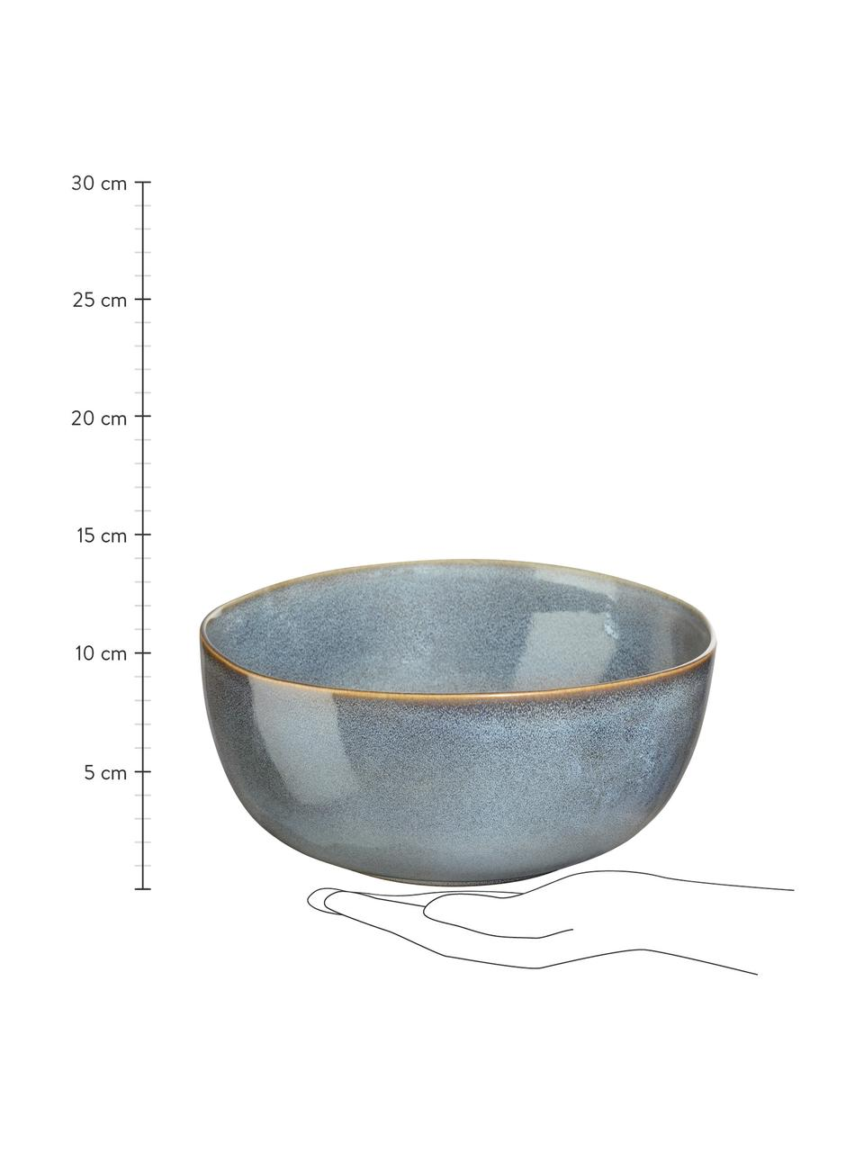 Misa z kameniny Saisons, Ø 22 cm, Modrá