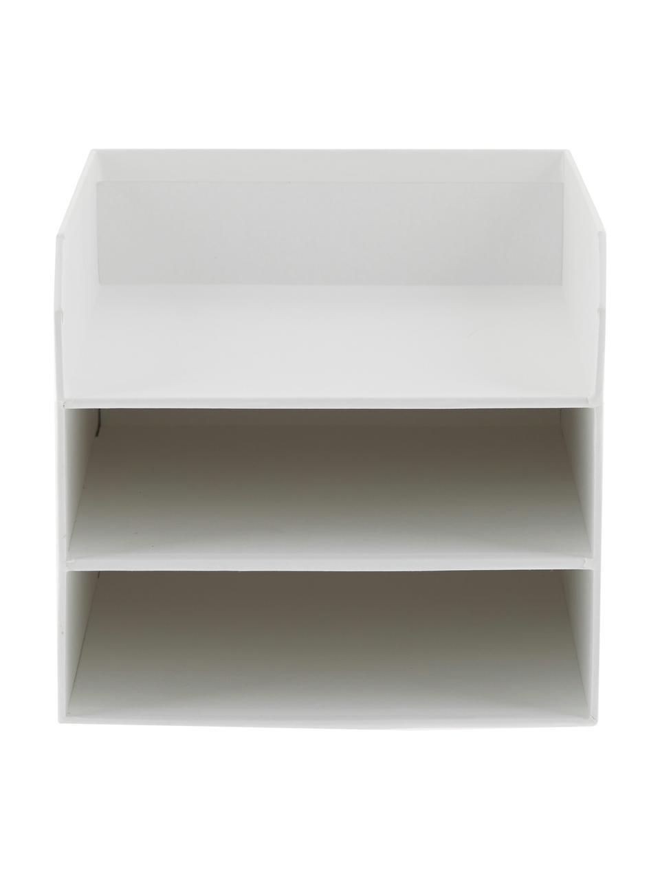 Tacka na dokumenty Trey, Tektura laminowana, Biały, S 23 x W 21 cm