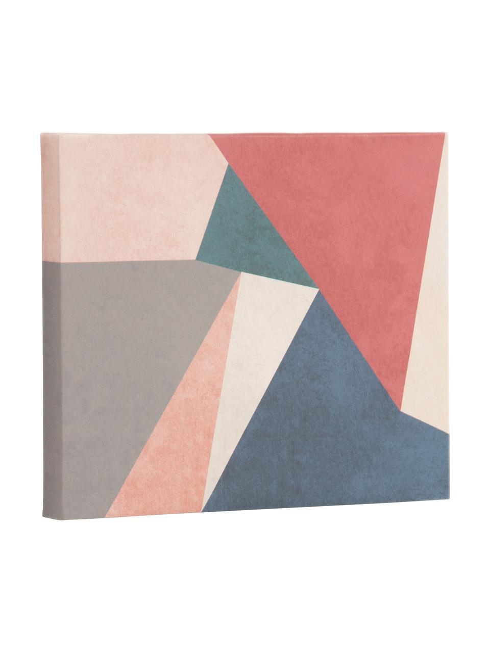 Stampa su tela Kyrene, Immagine: tela, Multicolore, Larg. 28 x Alt. 35 cm