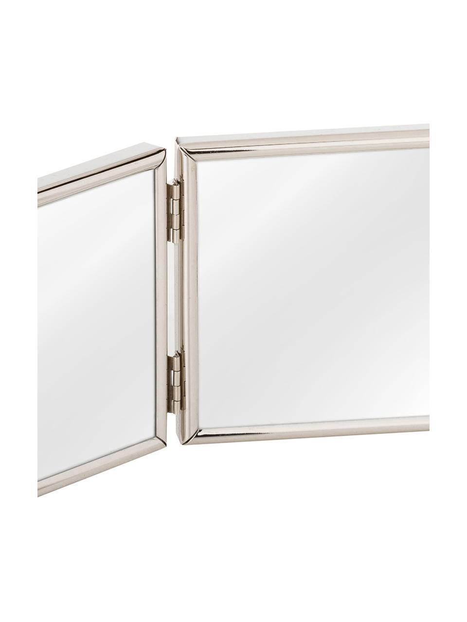 Bilderrahmen Carla, Rahmen: Metall, lackiert, Front: Glas, Rahmen: Silberfarben Front: Transparent, 15 x 10 cm