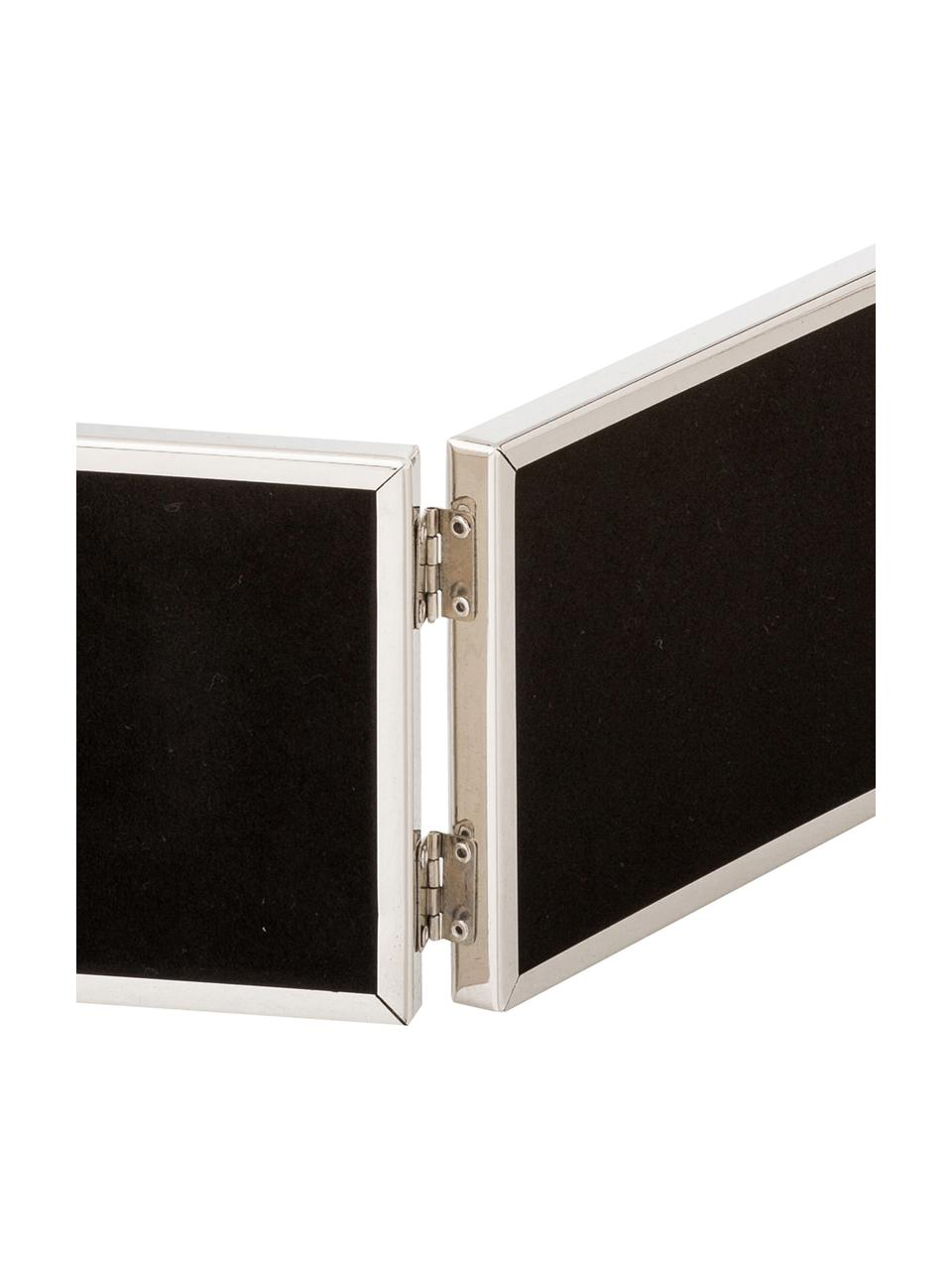 Ramka na zdjęcia Carla, Rama: srebrny Front: transparentny, S 15 x W 10 cm