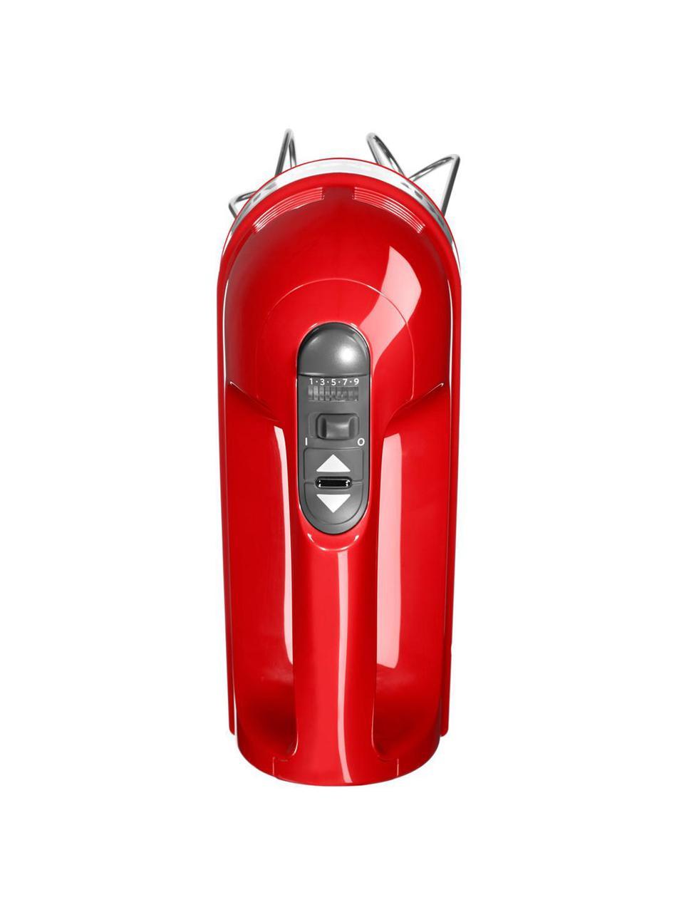 Sbattitore elettrico KitchenAid, Rosso lucido, Larg. 15 x Alt. 20 cm