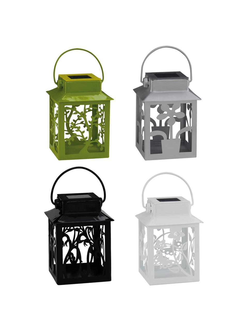 Komplet latarenek solarnych Garden-Lantern, 4 elem., Wielobarwny, S 8 cm x W 13 cm