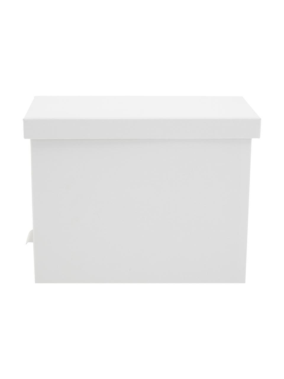 Organizer na dokumenty Johan, 9 elem., Na zewnątrz: biały Wewnątrz: biały, 19 x 27 cm