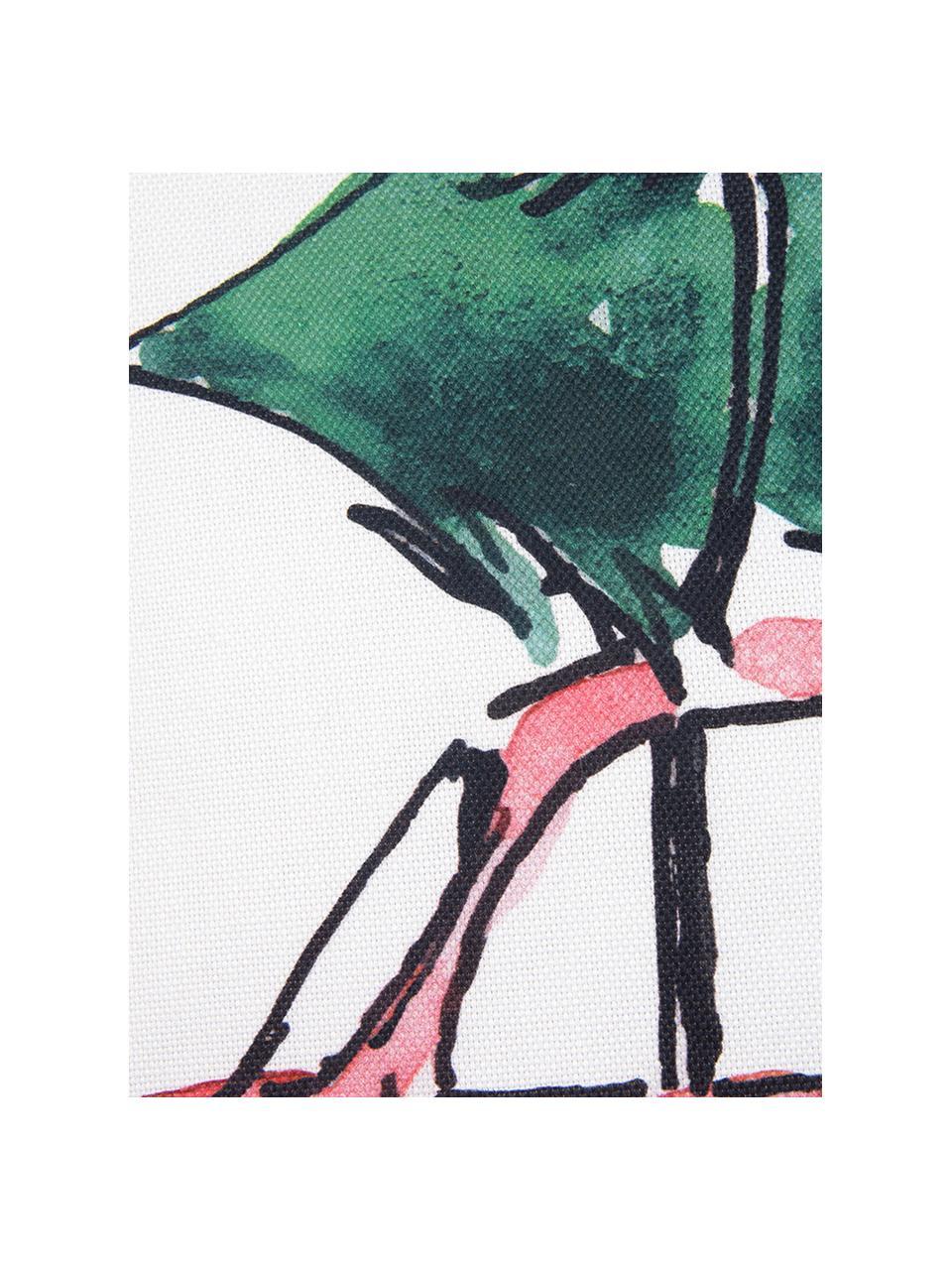 Designer Kissenhülle Xmas Tree von Kera Till, Baumwolle, Kissen: MehrfarbigKederumrandung: Grün, 40 x 40 cm