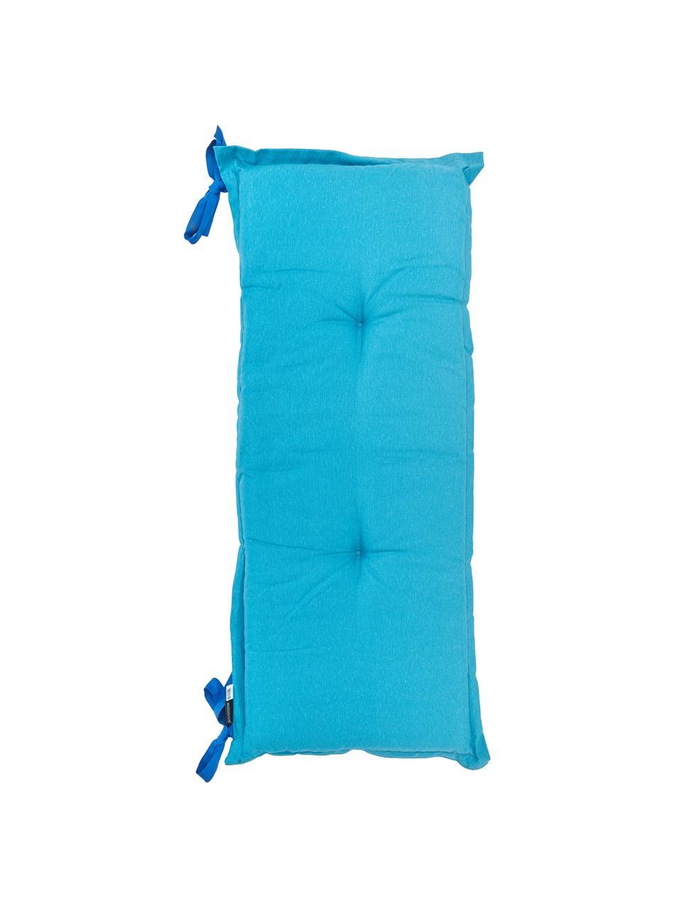 Poduszka na ławkę Panama, Tapicerka: 50% bawełna, 45% polieste, Turkusowy, S 48 x D 120 cm