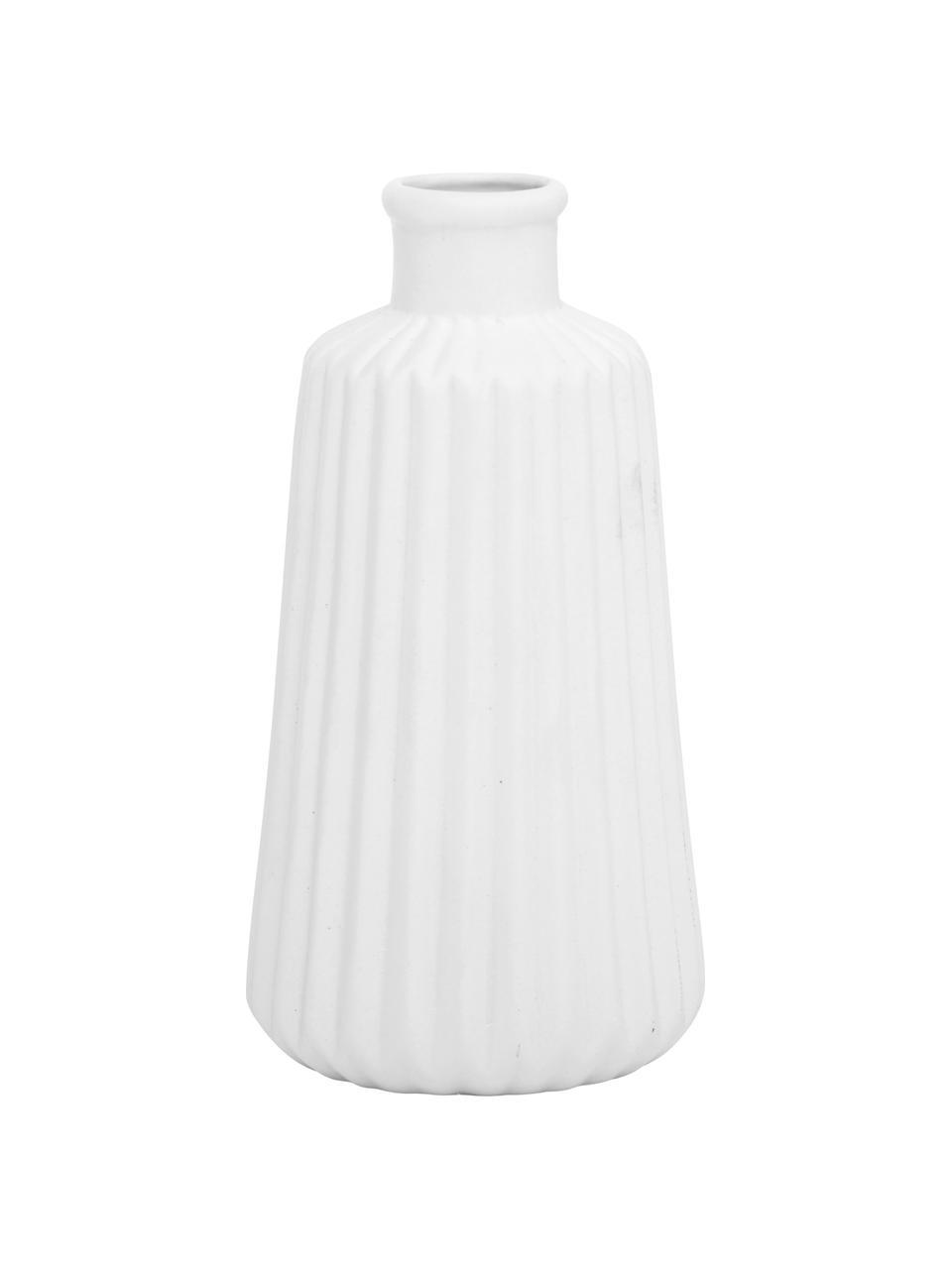 Komplet wazonów z porcelany Esko, 2 elem., Porcelana, Biały, Ø 8 x W 17 cm
