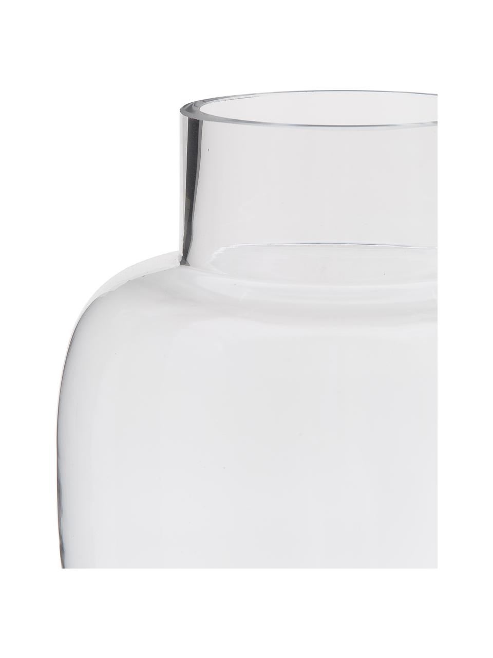 Vase Lotta, Glas, Transparent, Ø 18 x H 25 cm