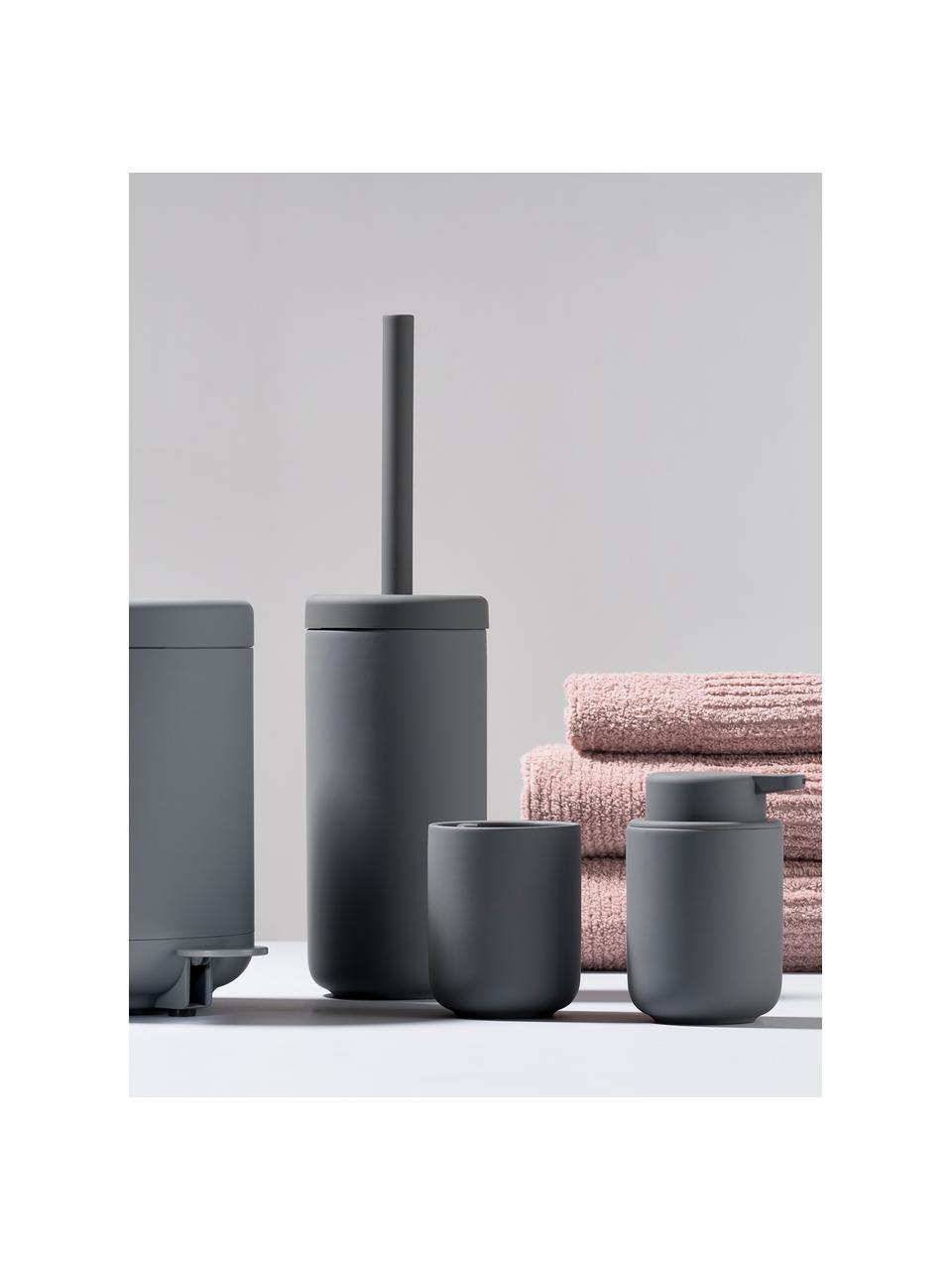 Porzellan-Seifenschale Ume, Porzellan, Grau, Ø 12 x H 3 cm