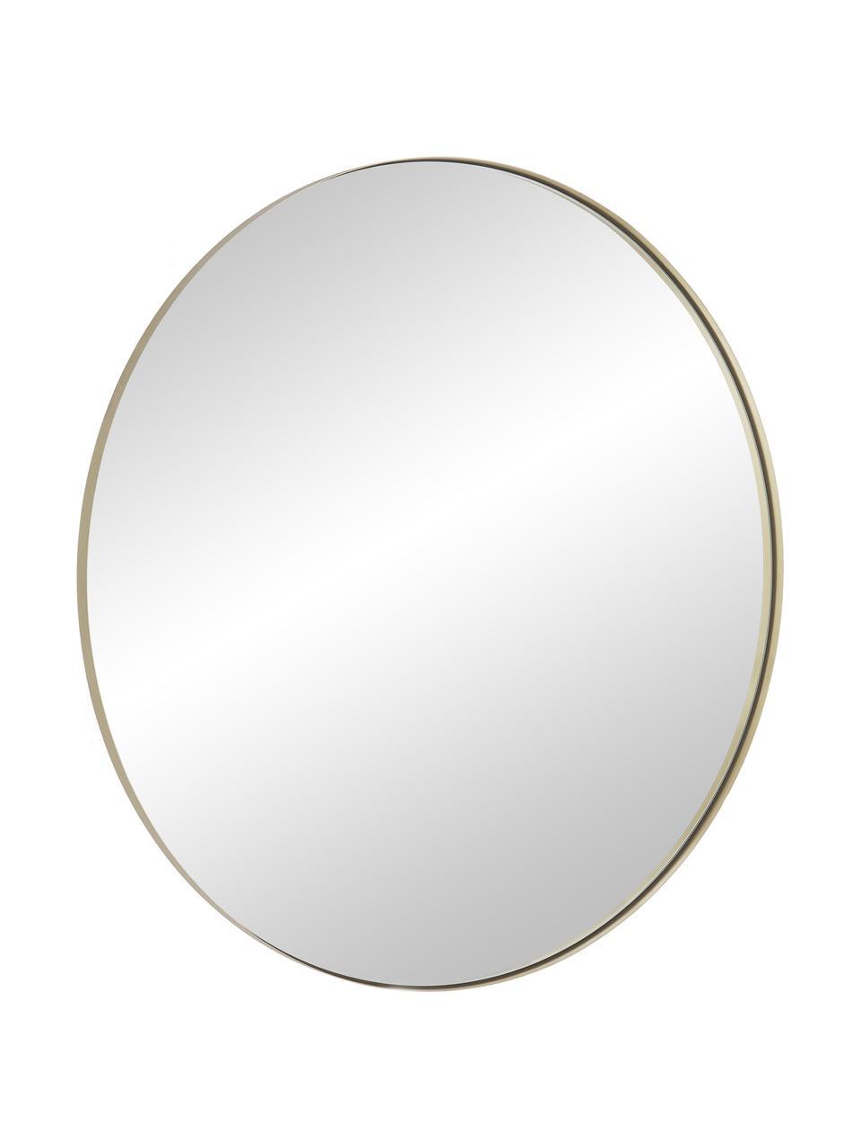 Kulaté nástěnné zrcadlo Ivy, Zlatá