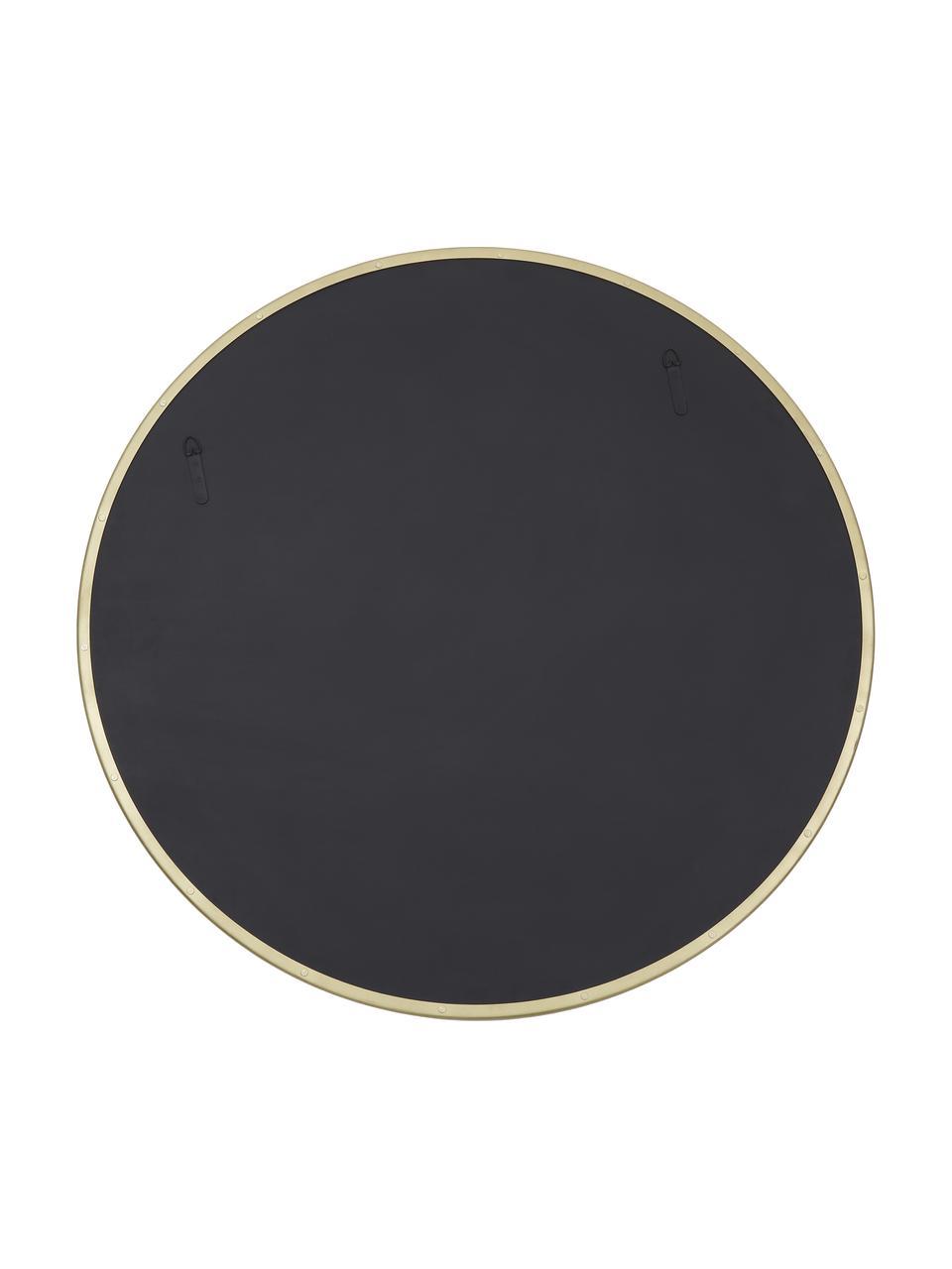 Okrągłe lustro ścienne Ivy, Złoty, Ø 100 cm