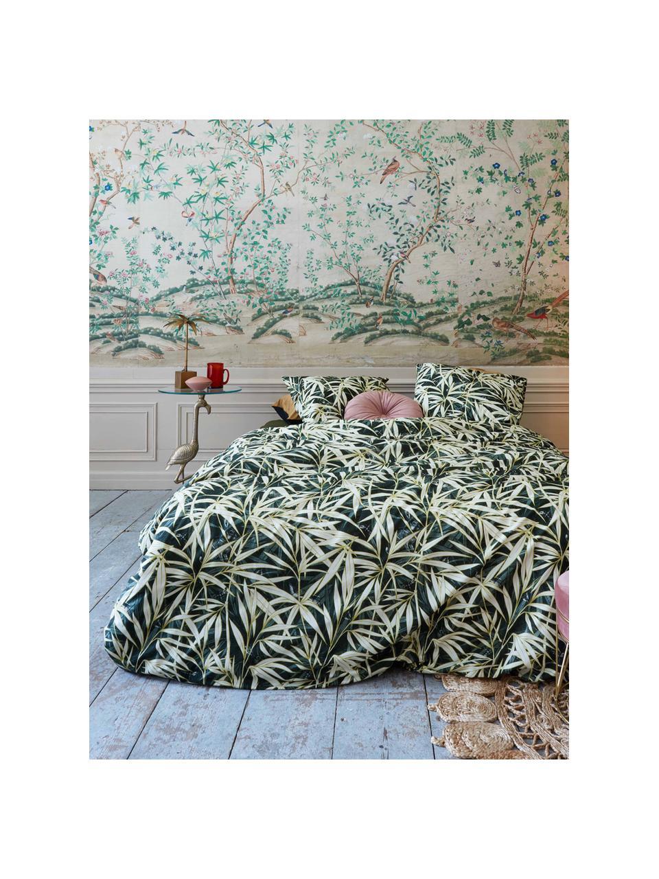 Pościel Hy Spy, Bawełna, Zielony, kremowy, 155 x 220 cm