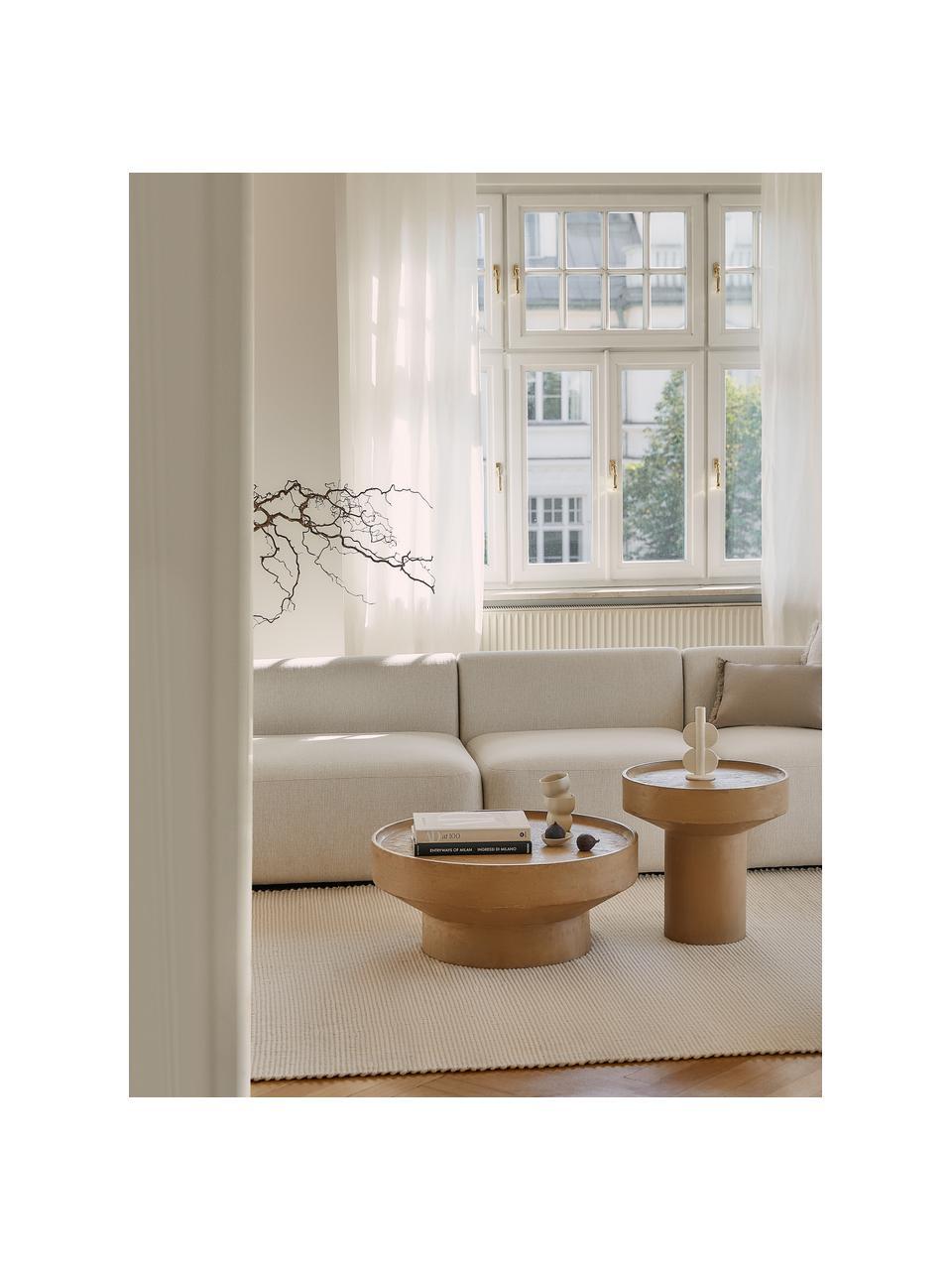Table basse en bois de manguier Benno, Brun clair