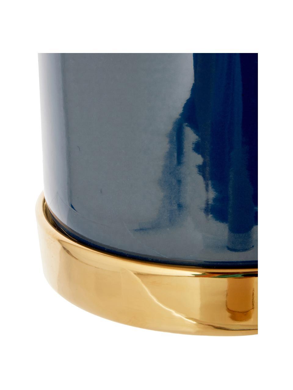 Cache-pot Elin, Pot: bleu Sous-pot: or