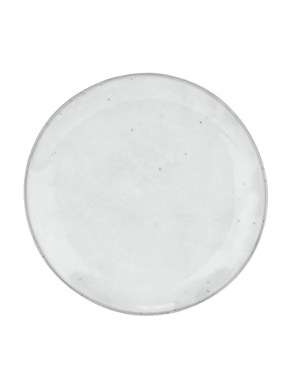 Piattino da dessert in gres fatto a mano Nordic Sand 4 pz, Gres, Sabbia, Ø 20 x Alt. 3 cm