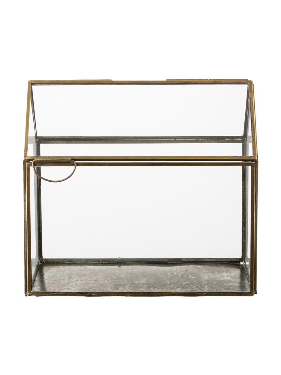 Świecznik My House, Stelaż: metal powlekany, Odcienie brązu, S 19 x W 18 cm