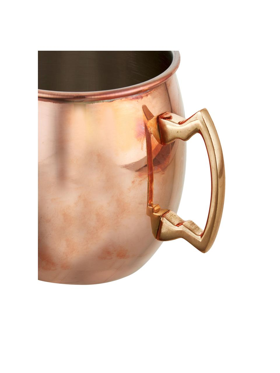 Mug en cuivre Moscow Mule à surface lisse Shiny, Cuivre