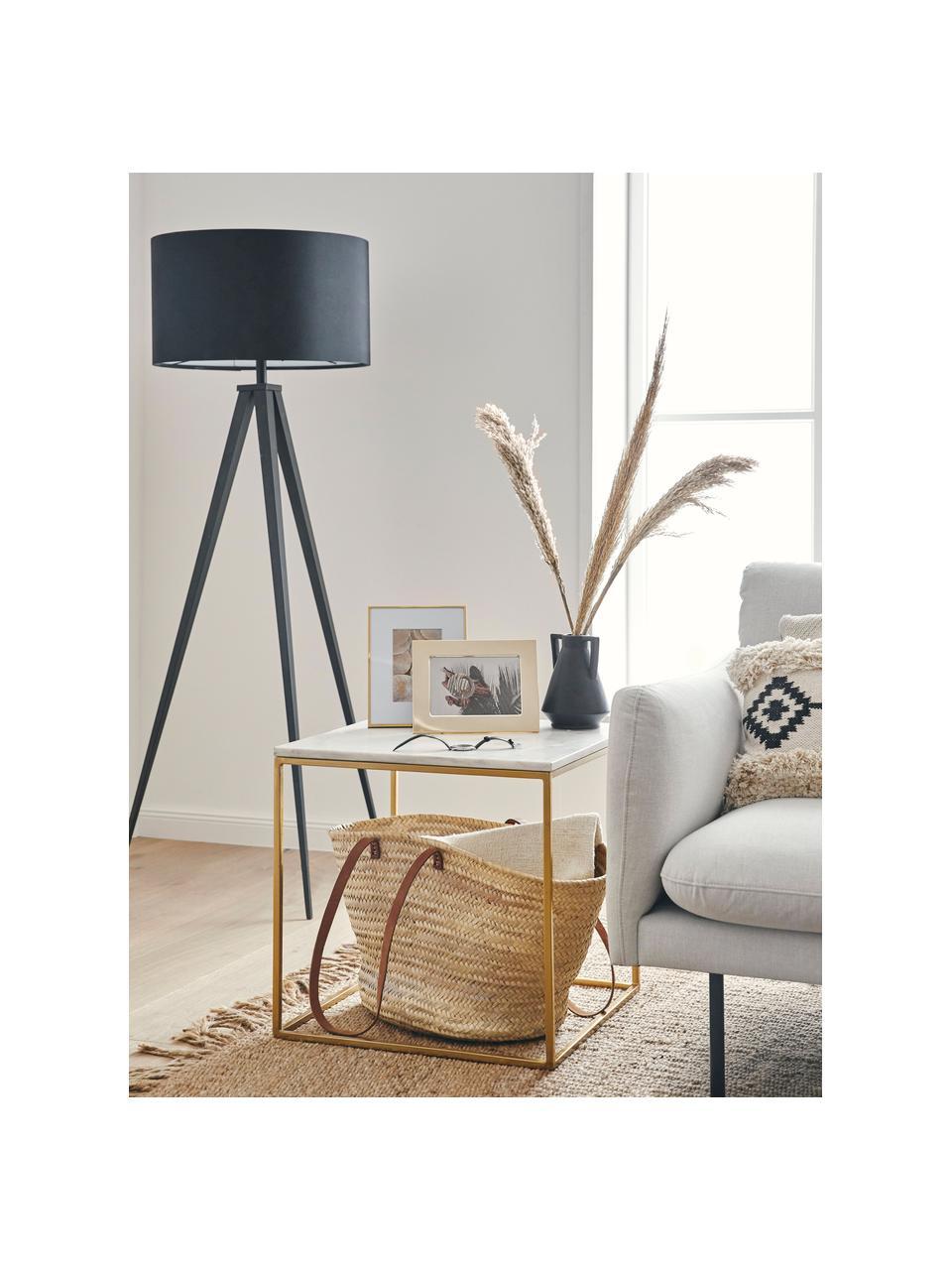 Vaas Lightwood van keramiek, Keramiek, Zwart, Ø 13 x H 18 cm