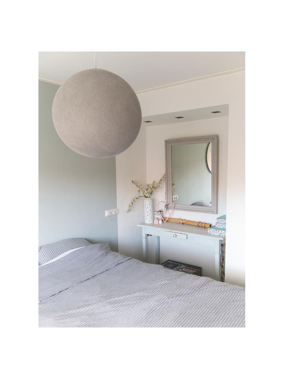 DIY Pendelleuchte Colorain, Lampenschirm: Polyester, Steingrau, Ø 31 x H 135 cm