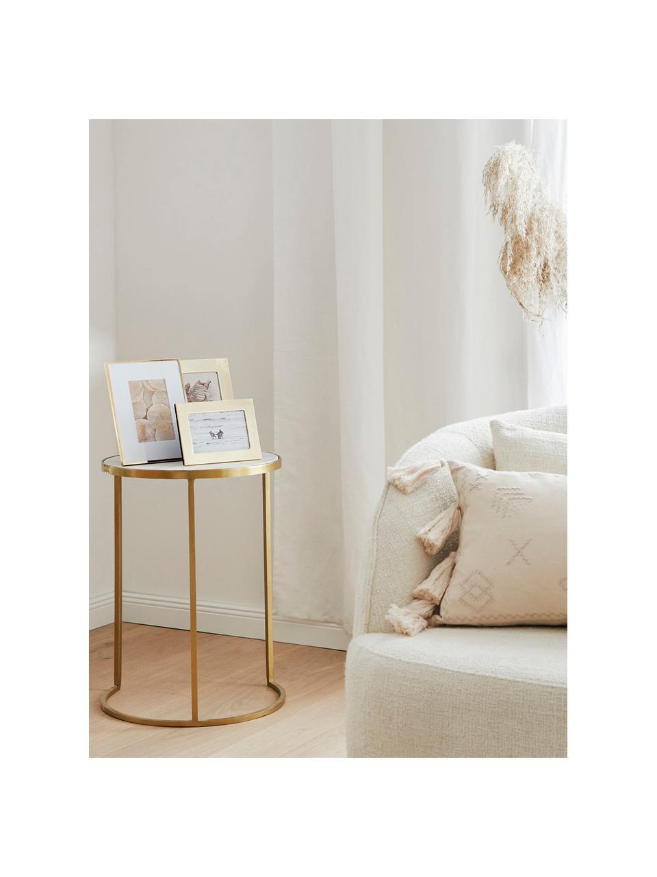 Ramka na zdjęcia Memento, Odcienie złotego, S 21 x W 26 cm