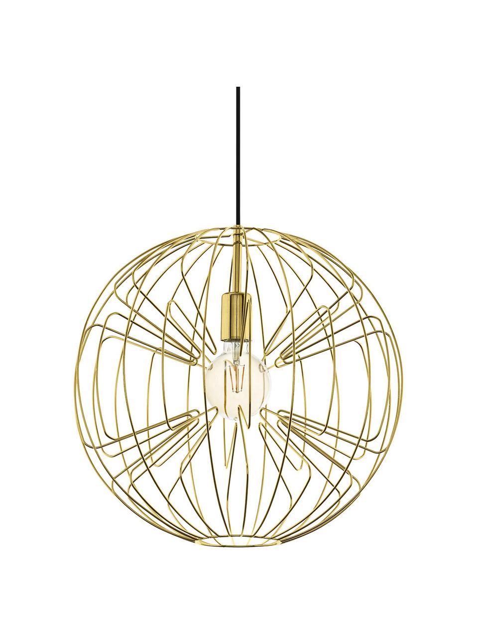 Lampa wisząca Okinzuri, Złoty, Ø 45 cm