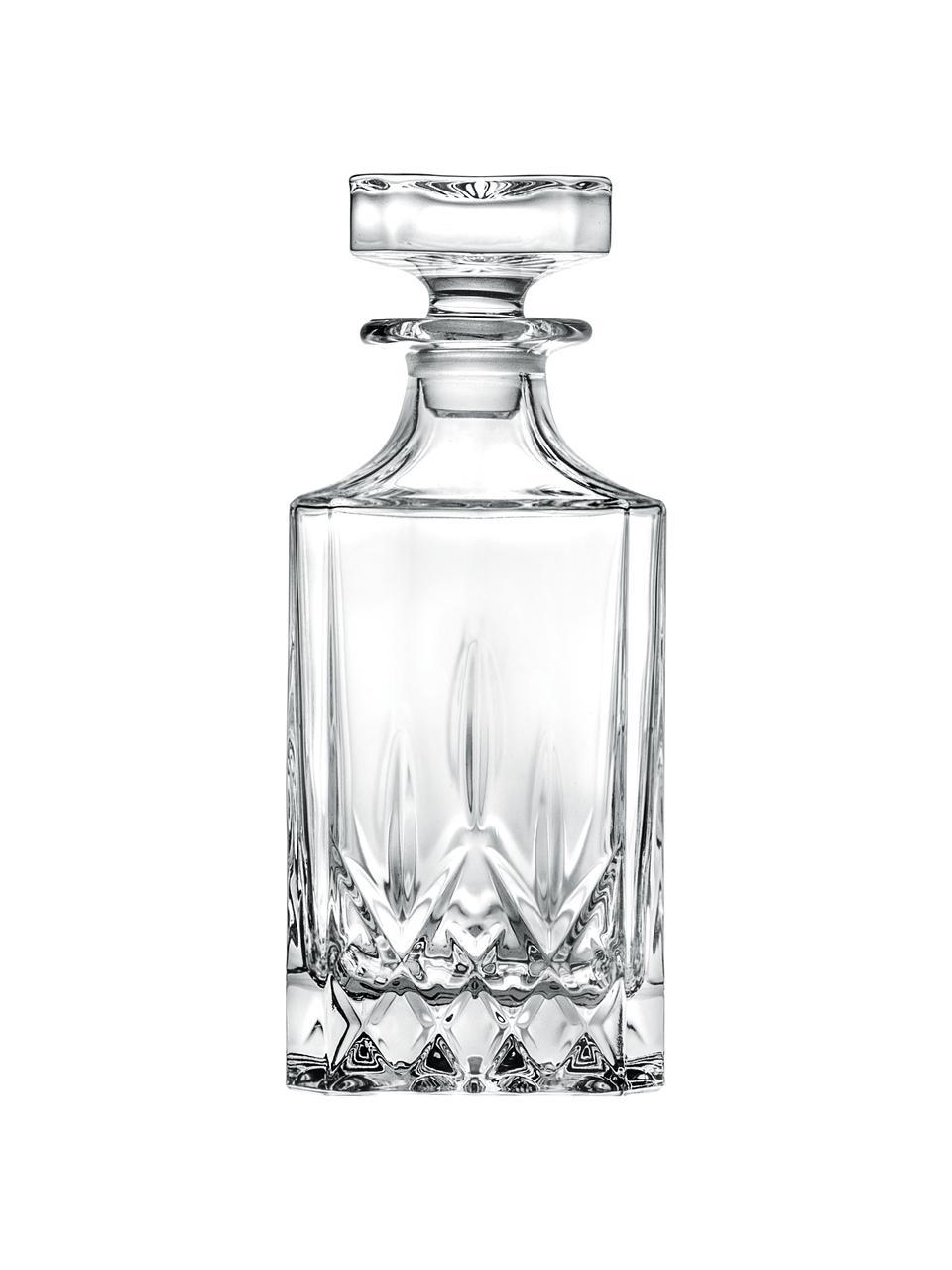 Carafe à décanter cristal avec bouchon Opera, 750ml, Transparent