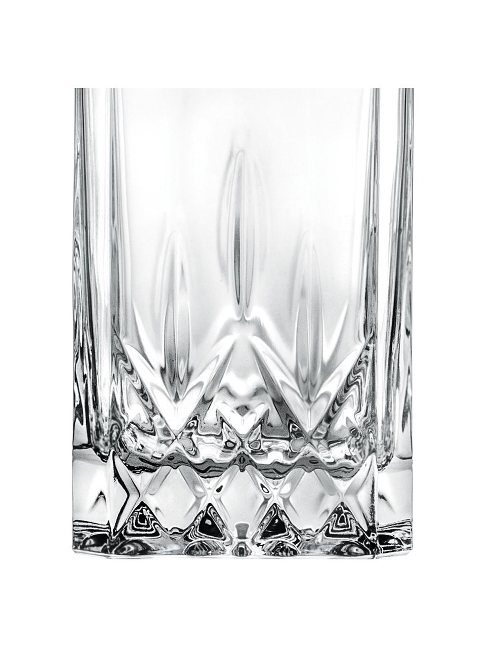 Kristall-Dekanter Opera mit Relief, 750 ml, Kristallglas, Transparent, H 22 cm