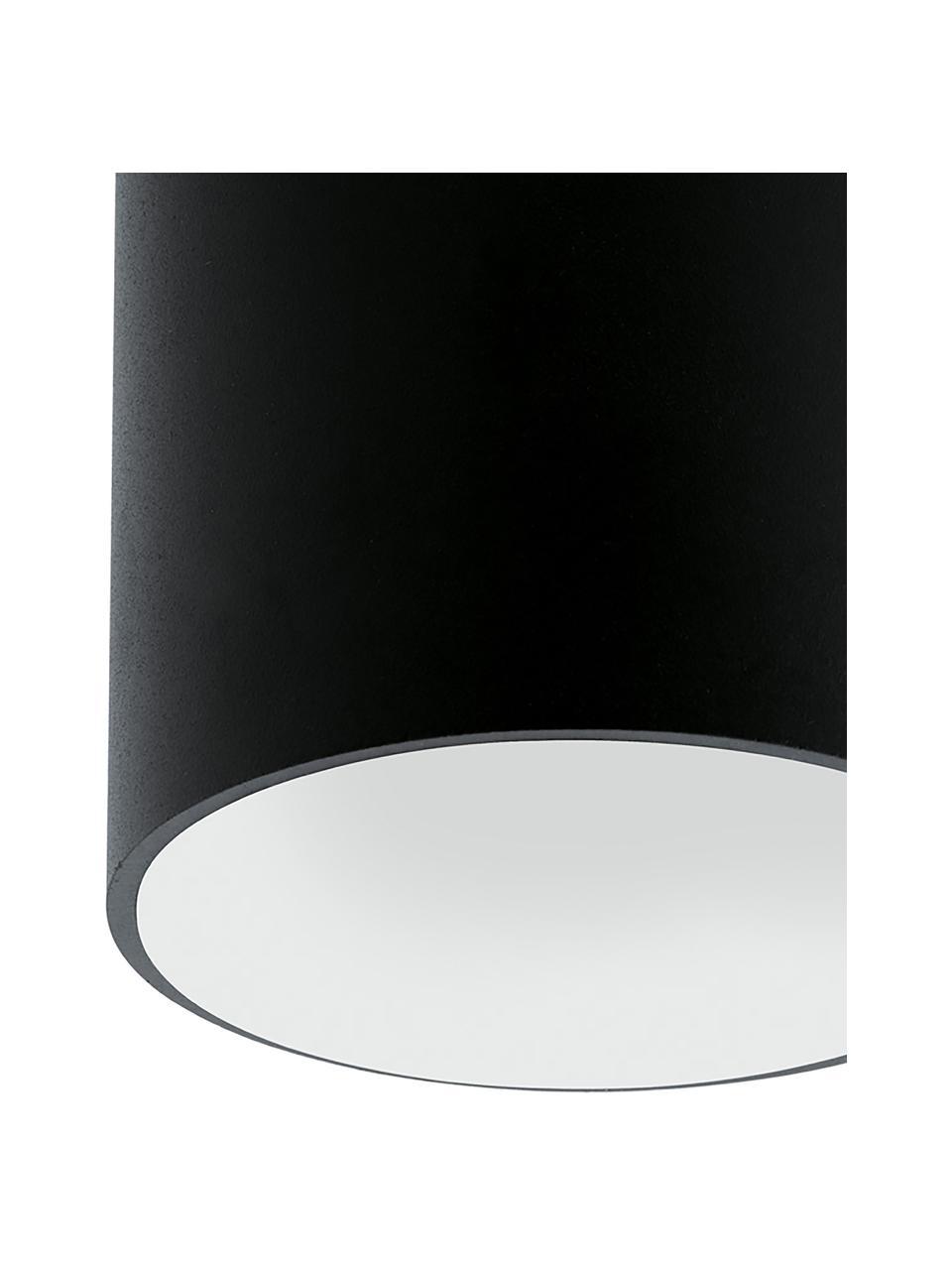 LED-Deckenspot Marty, Lampenschirm: Metall, pulverbeschichtet, Schwarz,Weiß, Ø 10 x H 12 cm