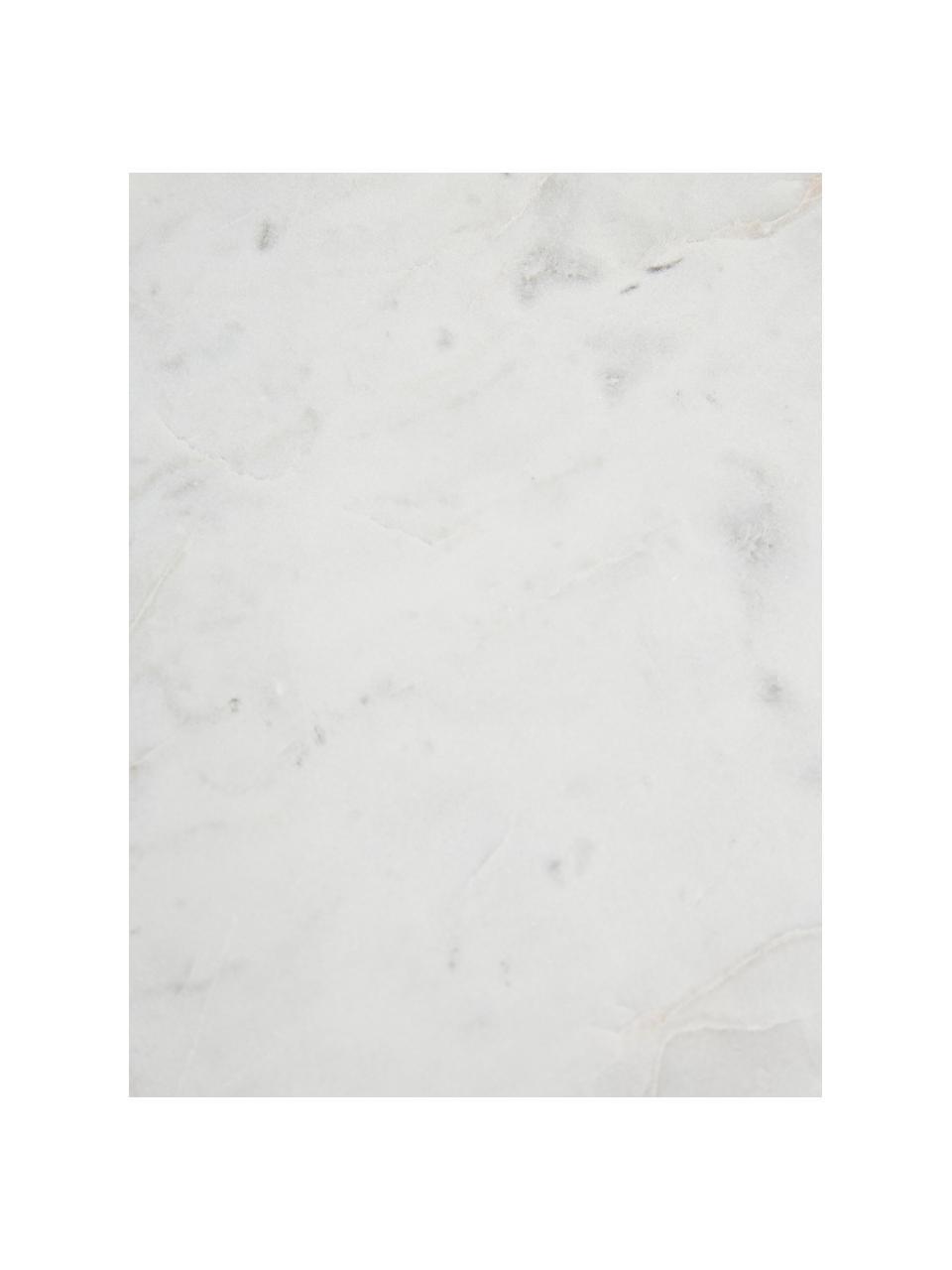 Marmor-Wandregal Porter, Regalboden: Marmor, Weißer Marmor, Goldfarben, 60 x 24 cm