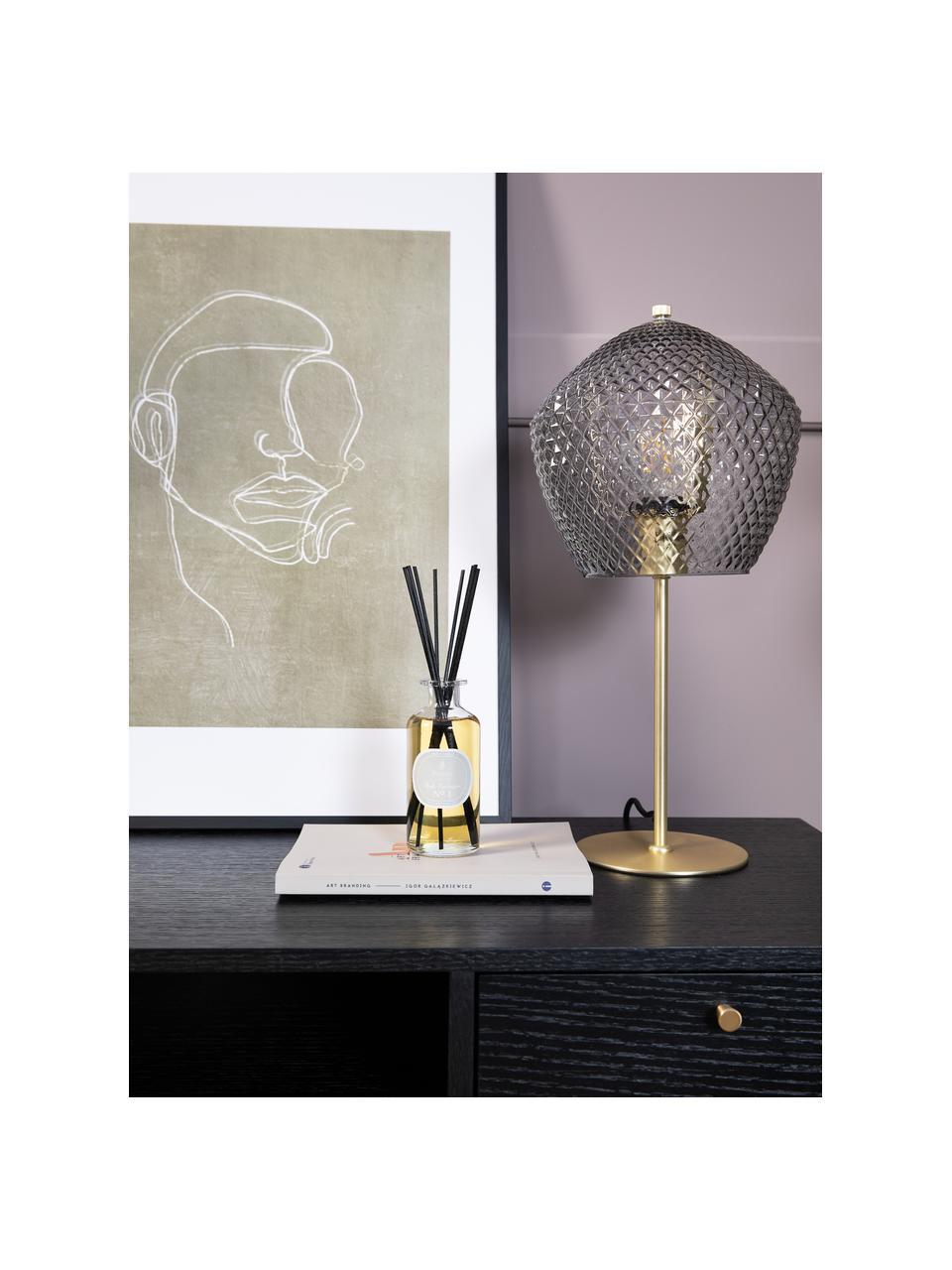 Ingelijste digitale print Espen, Lijst: gecoat grenenhout, Afbeelding: papier, Zwart, greige, wit, 52 x 72 cm