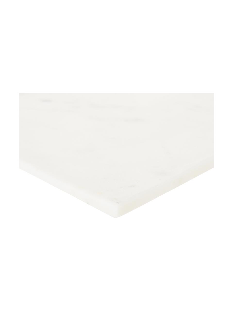 Marmeren serveerplateau Klevina, Marmer, Wit, 28 x 2 cm