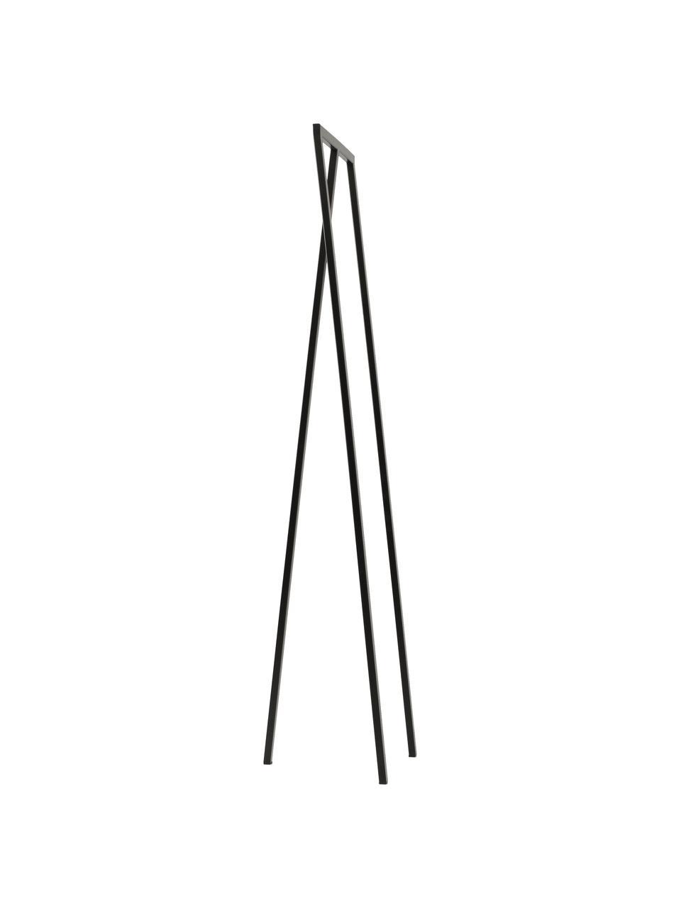 Wieszak stojący Kaya, Metal lakierowany, Czarny, S 50 x W 173 cm