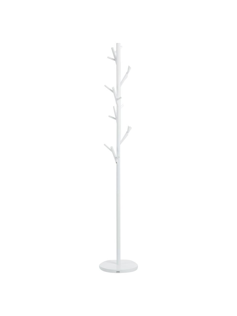 Porte-manteau à 18 crochets Tree, Blanc