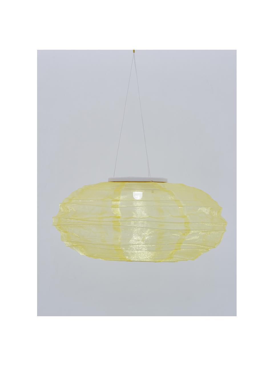 Solarna lampa wisząca Festival, Beżowy, Ø 35 x W 19 cm