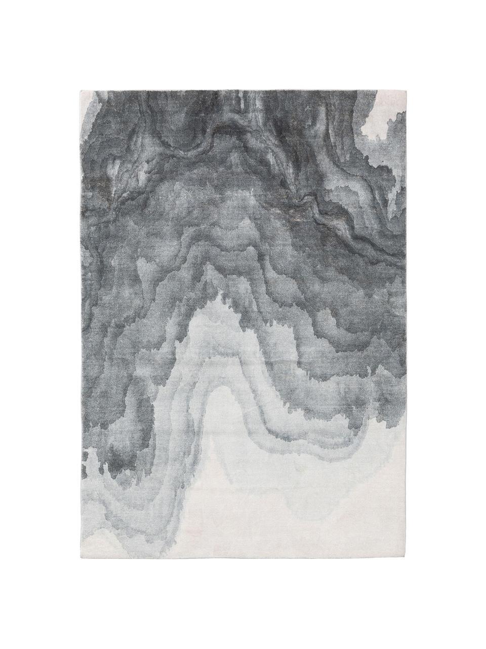 Dywan Mara, 100% poliester, Odcienie szarego, S 80 x D 150 cm (Rozmiar XS)