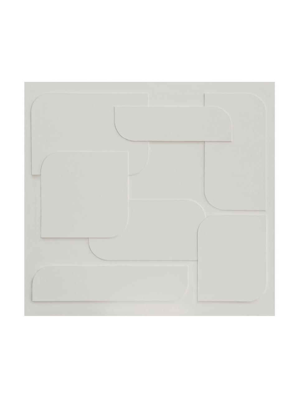 Fototapete 3D Geometric Art, Vlies, Beige, 300 x 280 cm