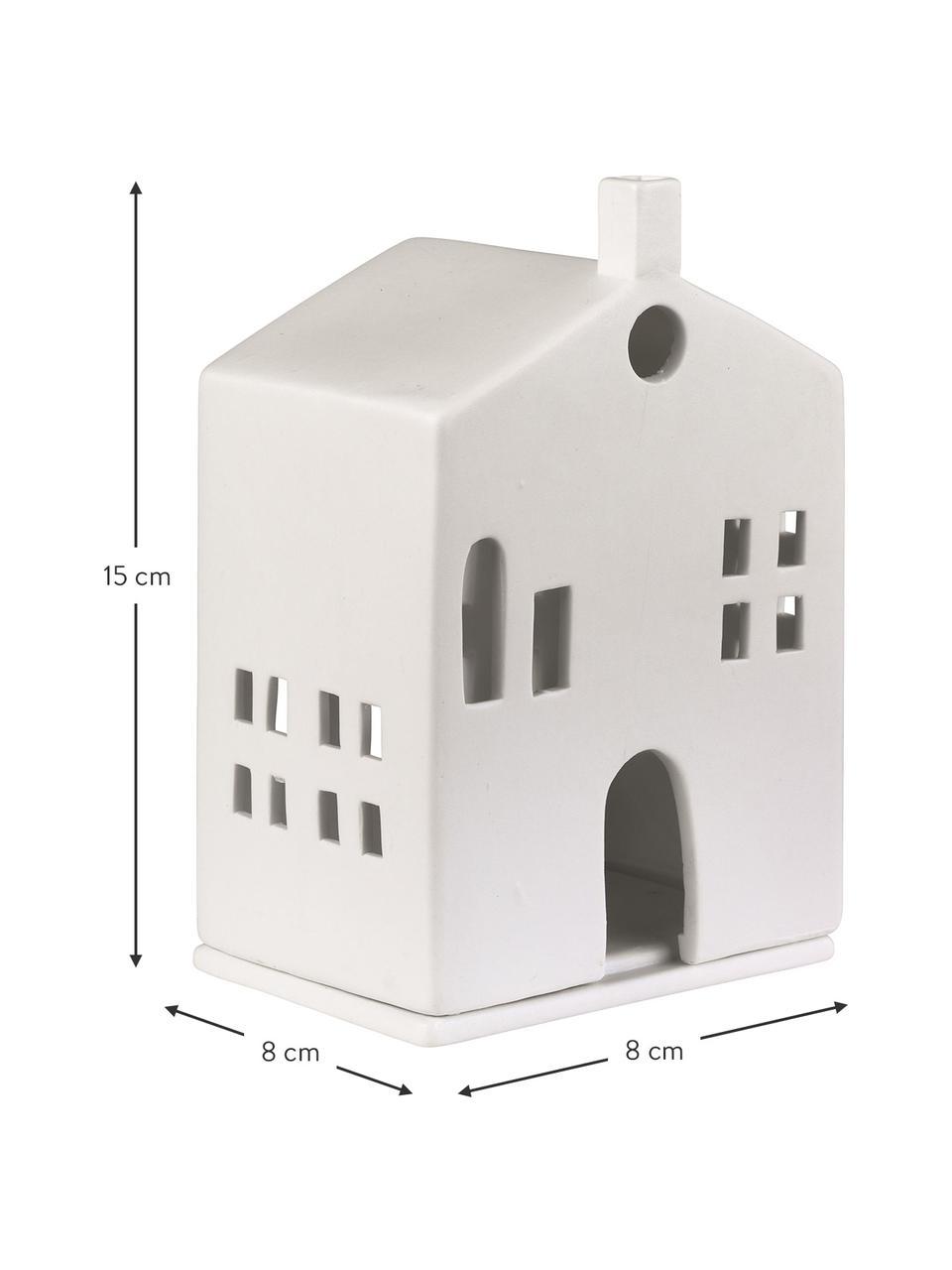 Lichthaus Building, Porzellan, Weiß, 10 x 15 cm