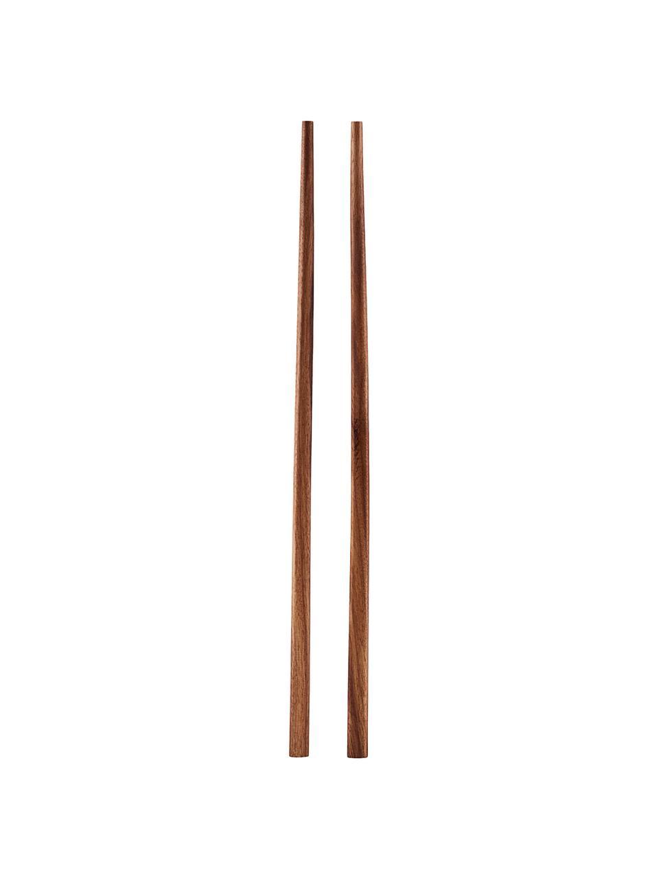 Bacchette in legno di Palawan Asia 6 paia, Legno di Palawan, Legno di Palawan, Lung. 23 cm