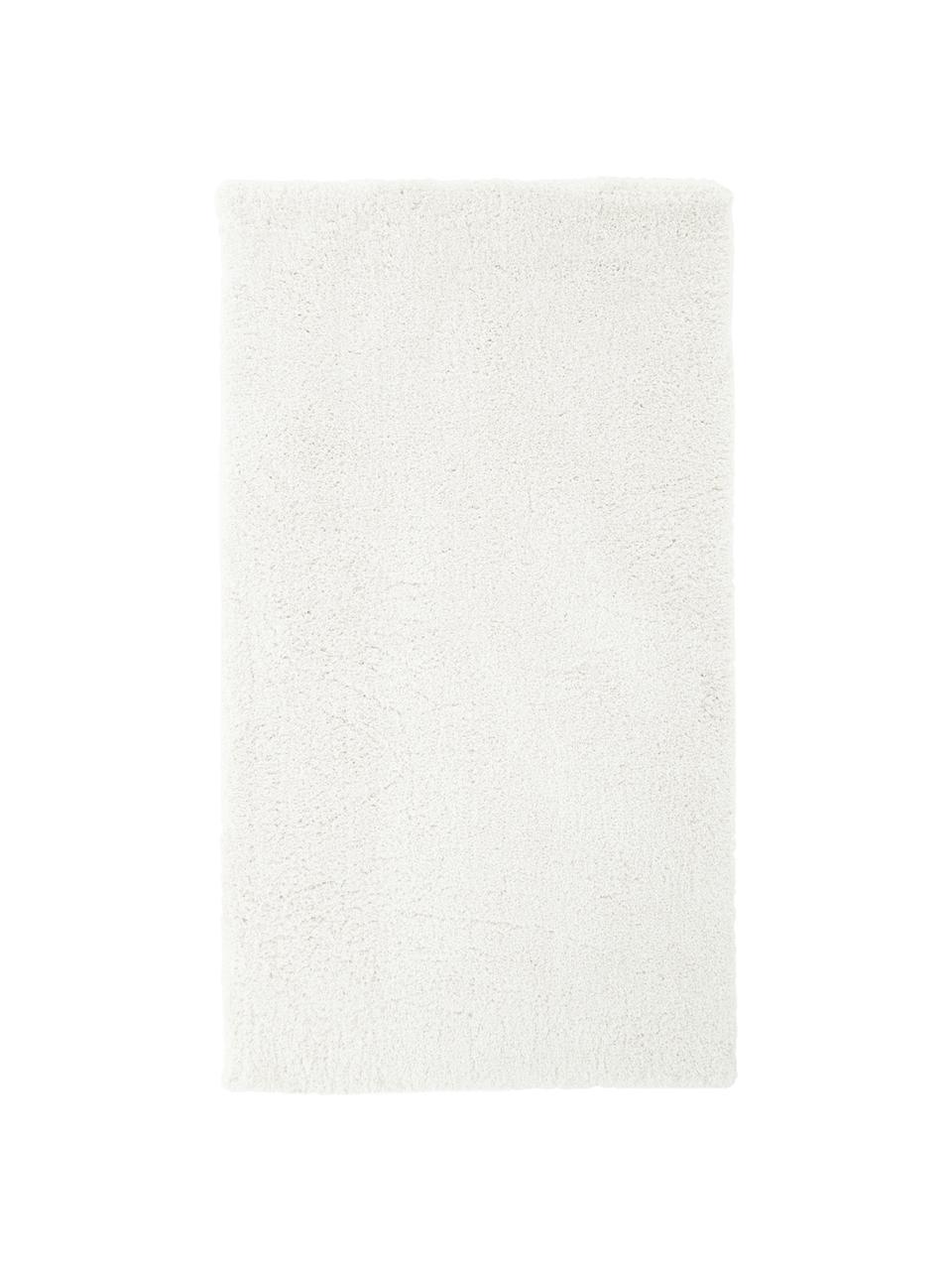 Tappeto morbido a pelo lungo color crema Leighton, Retro: 70% poliestere, 30% coton, Crema, Larg. 300 x Lung. 400 cm (taglia XL)