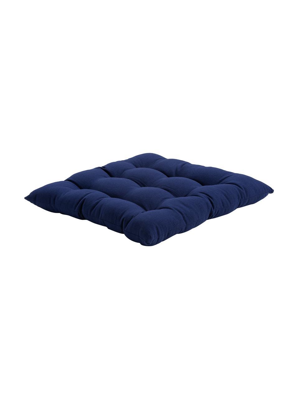 Poduszka na krzesło Ava, Granatowy, S 40 x D 40 cm