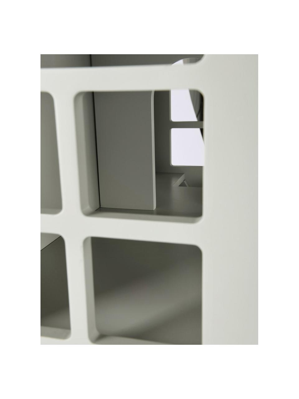 Spielhaus Mi Casa Su Casa, Kiefernholz, Mitteldichte Holzfaserplatte (MDF), Grau, Gelb, 61 x 106 cm
