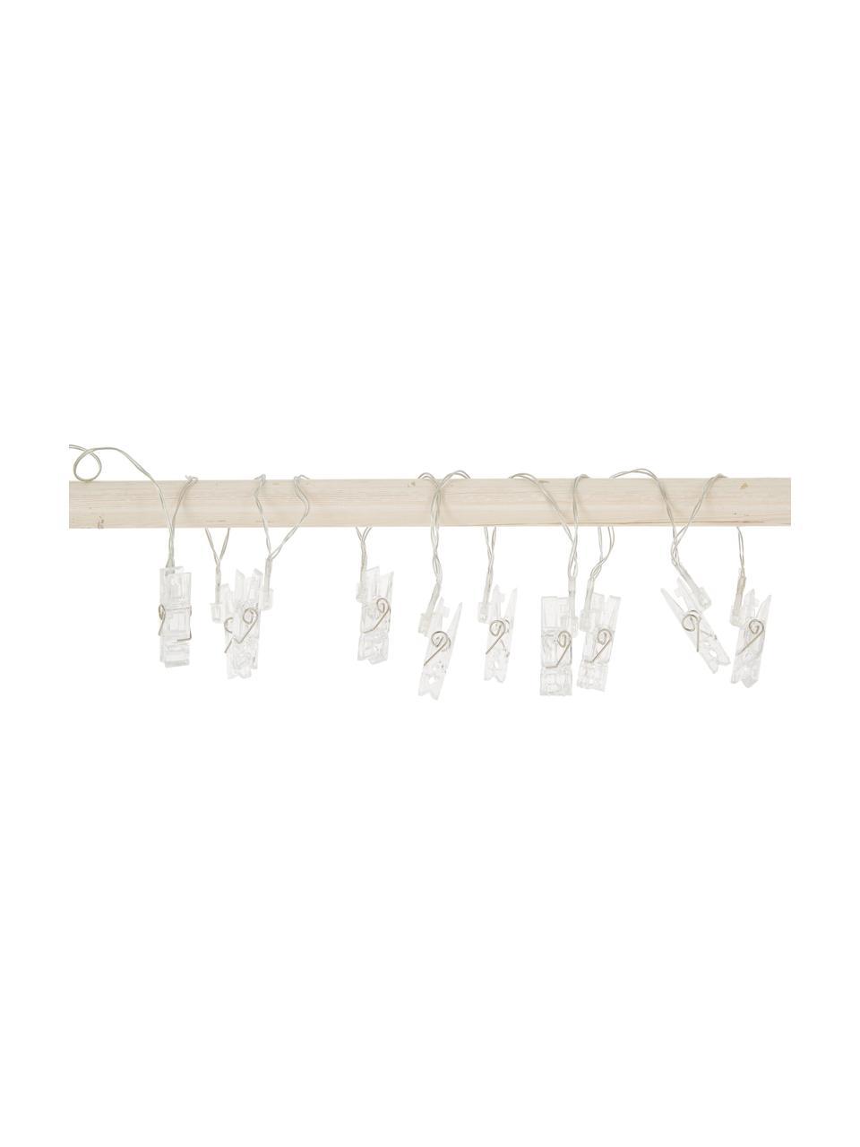 Ghirlanda a LED Clippy, 135 cm, 10 lampioni, Trasparente, Lung. 135 cm