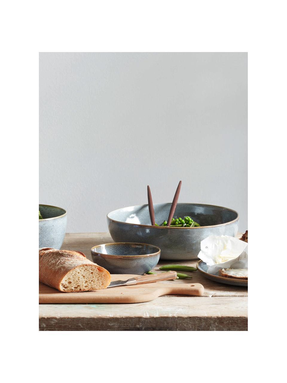 Mokken Saisons van keramiek in blauw, 6 stuks, Keramiek, Blauw, Ø 15 x H 5 cm