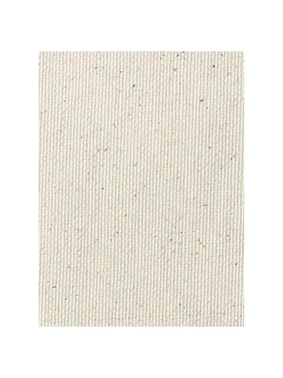 Copertura poltrona Levante, 65% cotone, 35% poliestere, Beige, Larg. 110 x Alt. 110 cm